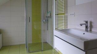 Gundelfinger: Sanitärtechnik: Dusche bodengleich