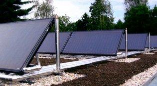 Gundelfinger: Solaranlagen: Gründachaufstellung